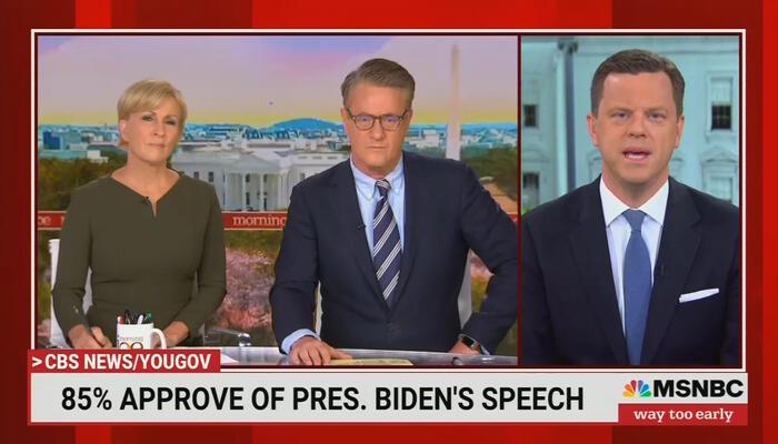 Morning Joe Swoons Over Biden Speech: Reagan Era 'Officially Ended Last Night'