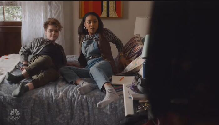 This Is Leftism: 13-Year-Old Lesbian, 'Non-Binary' Girls Kiss on NBC Drama