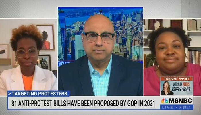 Hateful MSNBC Pundit: Republicans 'Are the Same People' as Slave Owners