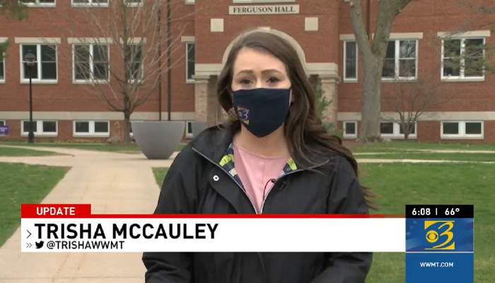 TV Reporter Buries Inconvenient Fact that 'Hate Crime' She Is Covering Is a Hoax
