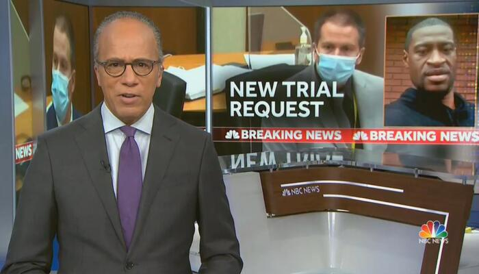 At It Again! NBC Hides Alleged Juror Misconduct in Chauvin Trial