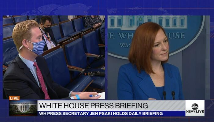 Why Work? Doocy Presses Psaki on Unemployment Benefits Keeping People From Jobs