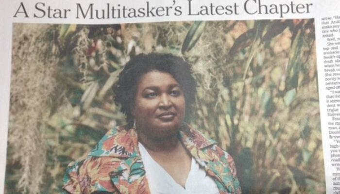 NY Times Profiles Sore-Loser Stacey Abrams: 'A Star Multitasker's Latest Chapter'