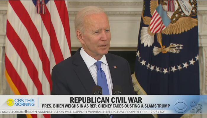 Media HACKS: Look at Biden Lecture GOP...After We Asked Him To!