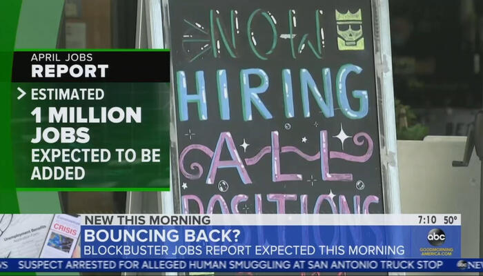 GMA Predicts 'Blockbuster Jobs Report,' Then Silent on Abysmal Numbers