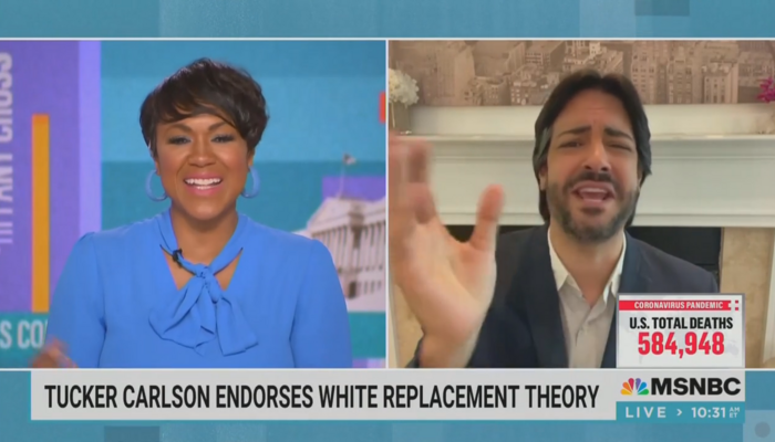 MSNBC Contributor: I Have to Wipe 'Stink' of Tucker Carlson Out of Air