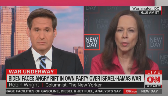 Surprise! On Israel/Hamas Conflict, CNN Paints Picture of Feckless, Golfing Biden