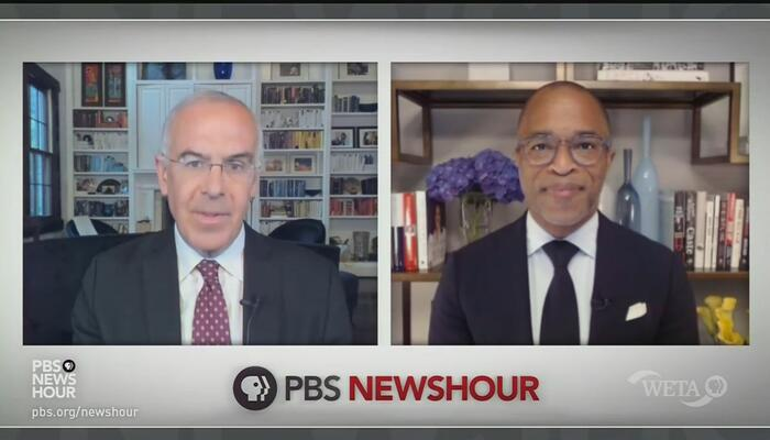 On PBS, David Brooks Says Election Laws Won't Affect Much, But a 'Horrific Look' for the GOP