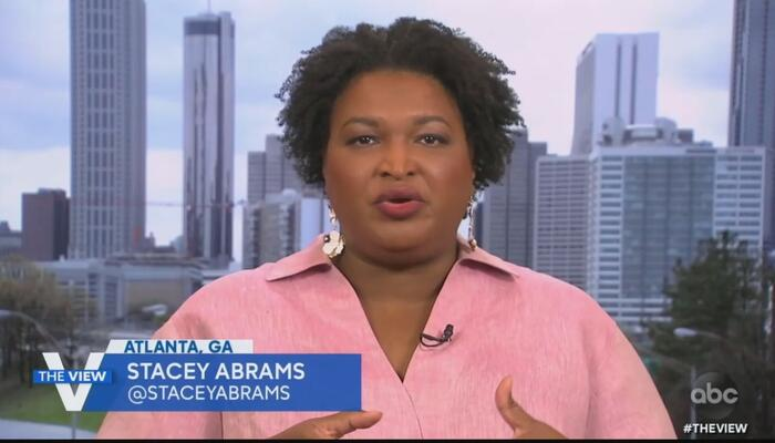 'View' Bows Down to 'Expert' Abrams: Educate Us on How GOP Is Taking Away Voting Rights!