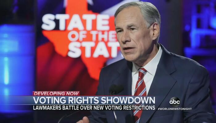 After Touting Texas Dem Stunt, ABC Deices Gov. Abbott Withholding Pay