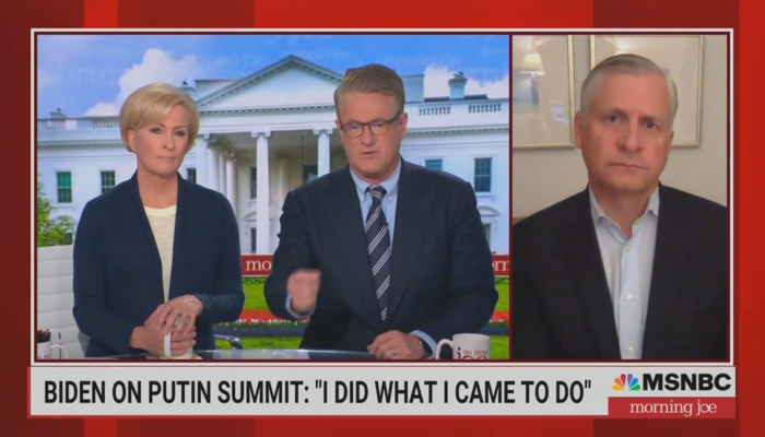 How Much Is Biden Paying for Morning Joe's Dignity? Crew Praises Dem's 'Poetry'