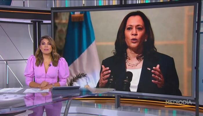 Telemundo HIDES Kamala´s Border Lies