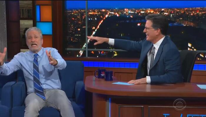Stewart Blows the Minds of Colbert and Lefties Everywhere With Epic Wuhan Lab Rant