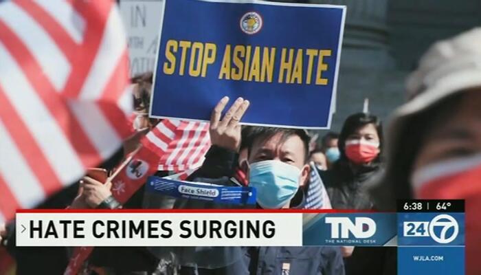 Trump's 'Racist' Rhetoric Blamed for Anti-Asian Hate
