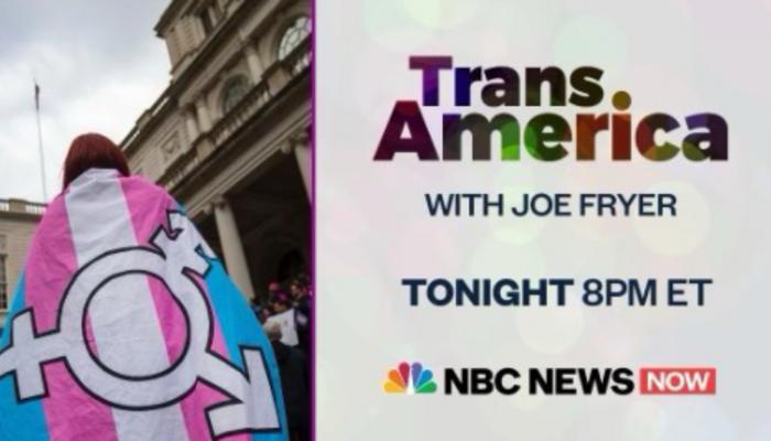 NBC News Now Pushes Trans Propaganda Piece: 'TransAmerica'