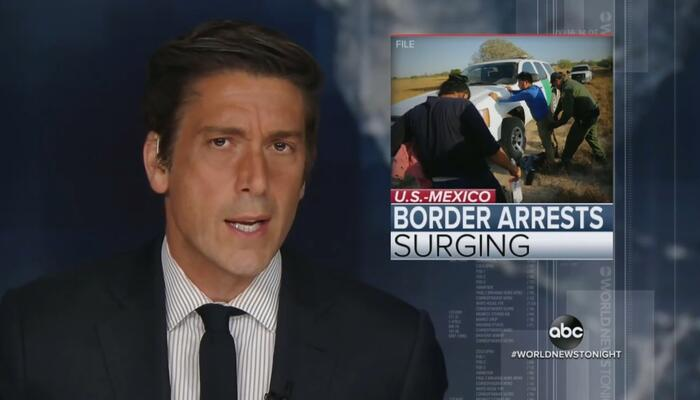 Only 2 networks (barely) mention a new record in the border crisis, all skip the scoop on Hunter Biden