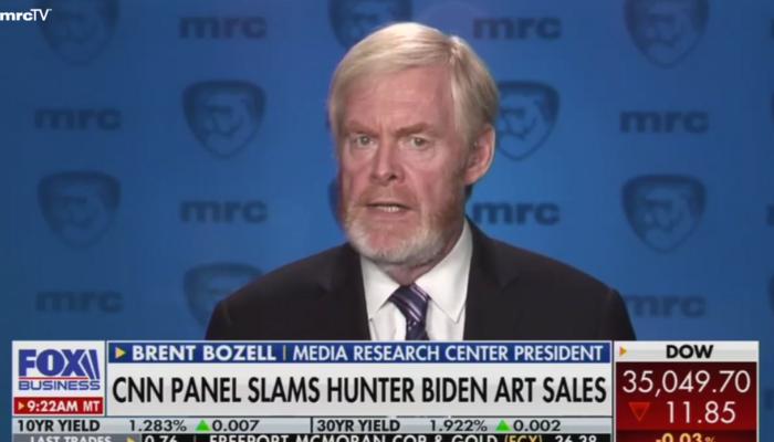 Brent Bozell: Media MUST Investigate 'Brazen' 'Corruption' of Biden Family