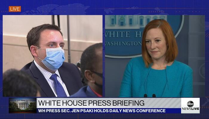 Ghoulish WH Reporters Demand Biden, Psaki Claim Abbott, DeSantis Are Spreading COVID