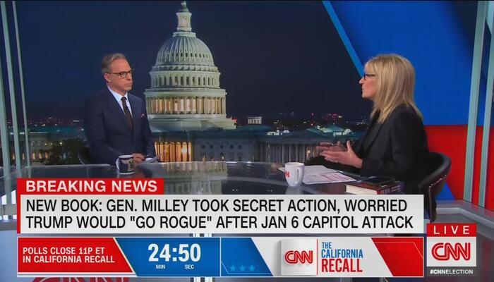 CNN Defends Milley's Alleged Treason for China, Cuomo Bucks