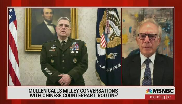 Morning Joe: Milley Tipping China Sounds Great— Except It Collides with the Constitution