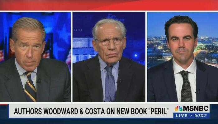 Woodward Praises Milley, Williams Says GOP Sens 'Put the Sick in Sycophant'