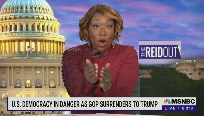 Looney Tunes Joy Reid Goes All Out With Dangerous Rhetoric Against Conservatives 1