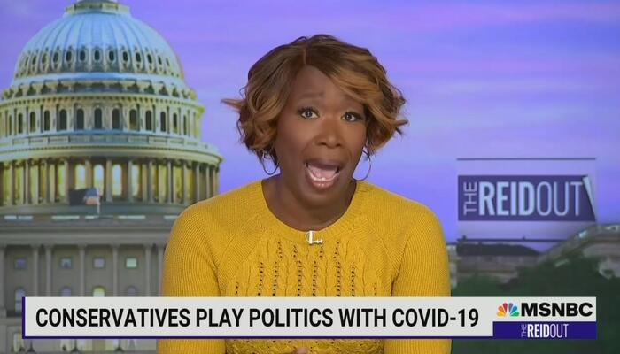 Tasteless Joy Re-Ups EVIL Claim GOPers 'Love' COVID, Want to Kill People With Virus
