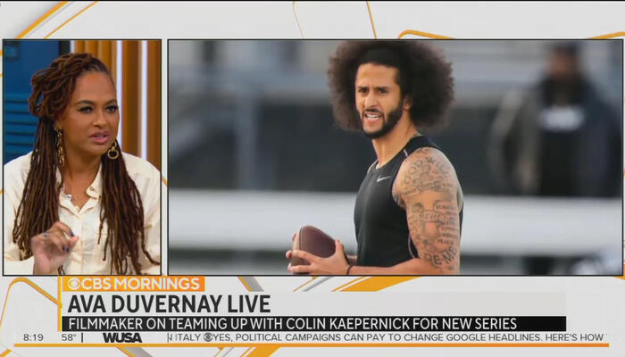 CBS Touts Netflix Kaepernick Series Comparing NFL Draft to 'Slave Auction'