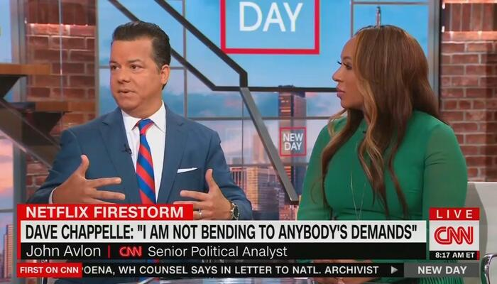 CNN's Avlon DEFENDS Chappelle: 'There Is No Right to Not Be Offended'