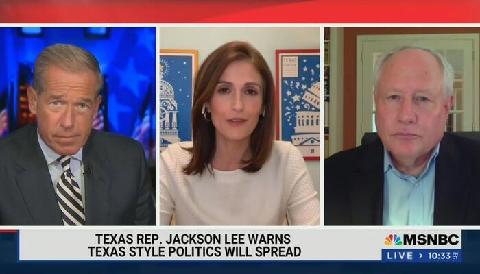Williams Worries 'The Texas Brand' Will Spread Like Jim Crow