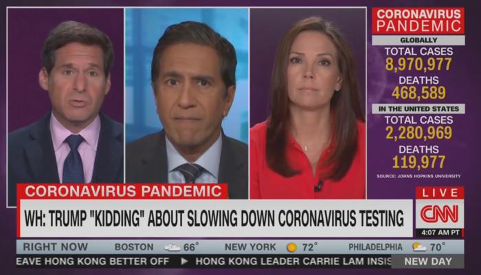 Dr. Sanjay Gupta CNN 6-22-20
