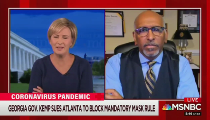 Mika Brzezinski and Michael Steele