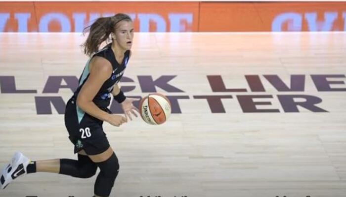 WNBA's BLM on-court display