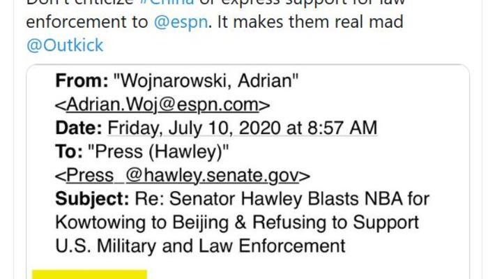 Sen. Hawley tweet