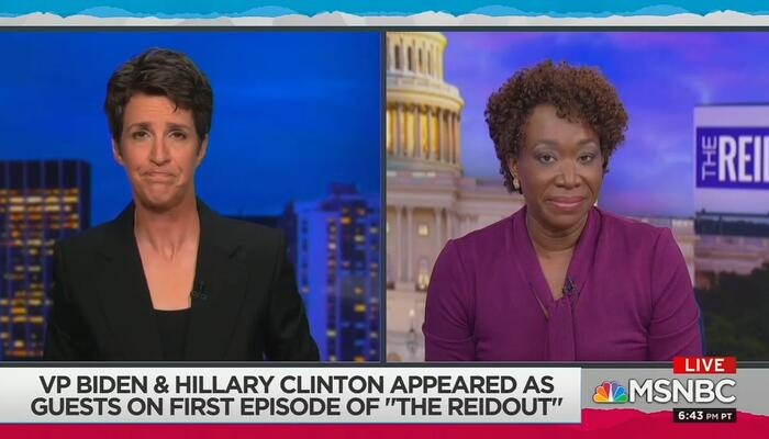 Rachel Maddow and Joy Reid