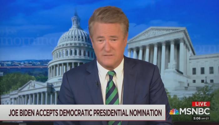 Joe Scarborough MSNBC Morning Joe 8-21-20