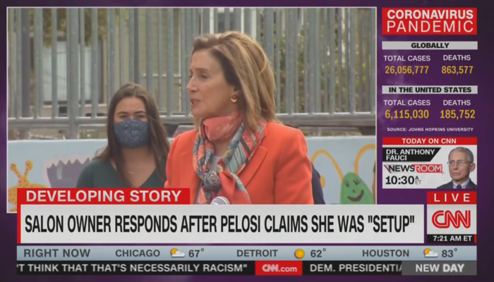 Nancy Pelosi CNN New Day 9-3-20