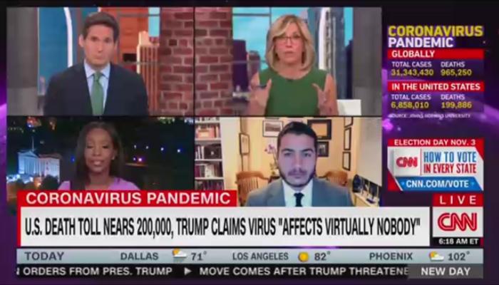 Alisyn Camerota CNN New Day 9-22-20