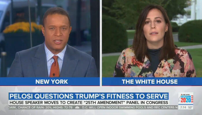 Craig Melvin and Hallie Jackson