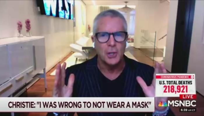 Donny Deutsch MSNBC Morning Joe 10-16-20