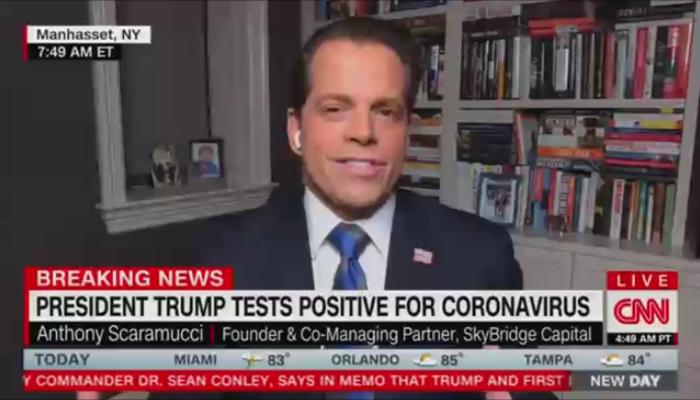 Anthony Scaramucci CNN New Day 10-2-20