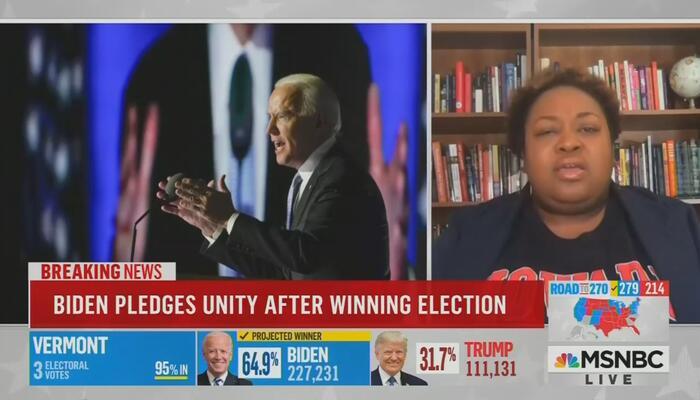 Brittney Cooper MSNBC AM Joy 11-8-20
