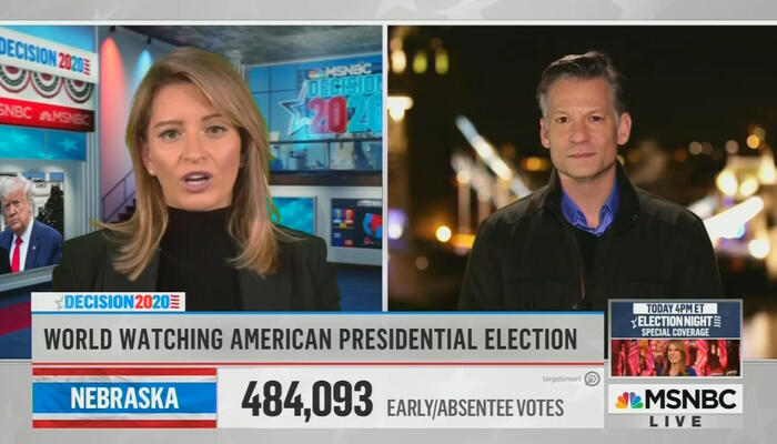 Katy Tur and Richard Engel