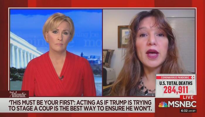 Mika Brzezinski Zeynep Tufekci MSNBC Morning Joe 12-8-20