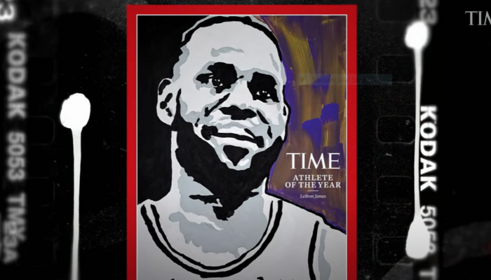 LeBron James person of yr