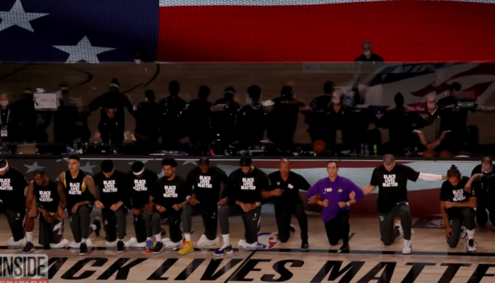 NBA's BLM playing court