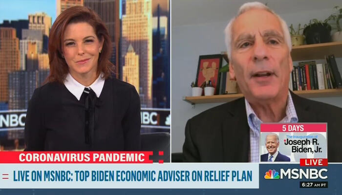 Stephanie Ruhle and Jared Bernstein