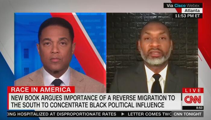 Charles Blow and Don Lemon