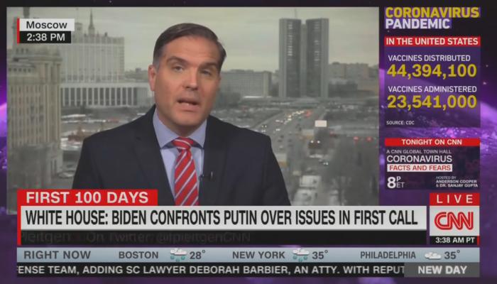 Frederik Pleitgen CNN New Day 1-27-21