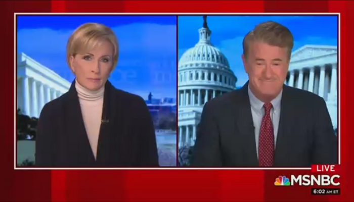 Mika Brzezinski Joe Scarborough MSNBC Morning Joe 1-18-21